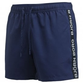 Salem Swim Shorts, Peacoat