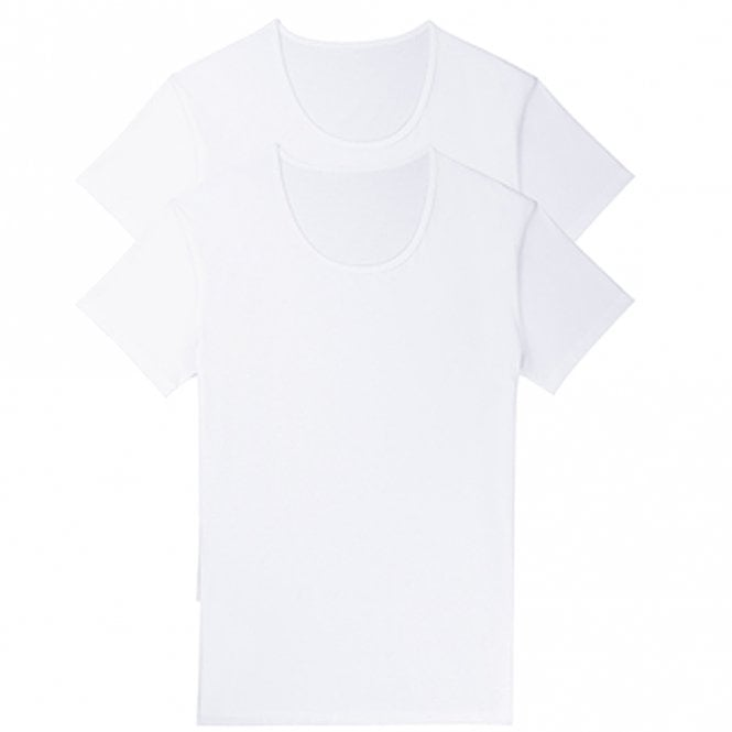 Sloggi 24/7 2-Pack Crew Neck T-Shirt, White