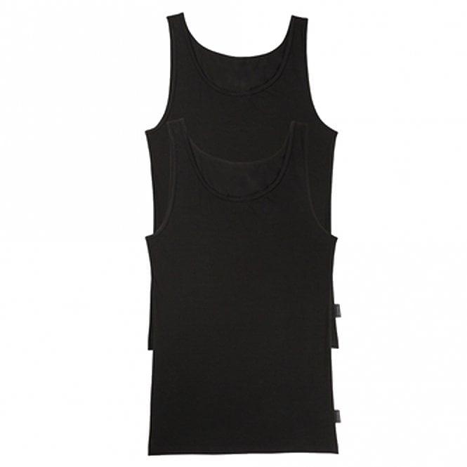 Sloggi 24/7 2-Pack Vest, Black