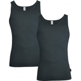 24/7 2-Pack Vest, Stormy Grey
