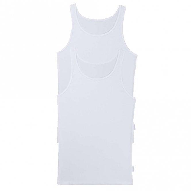Sloggi 24/7 2-Pack Vest, White