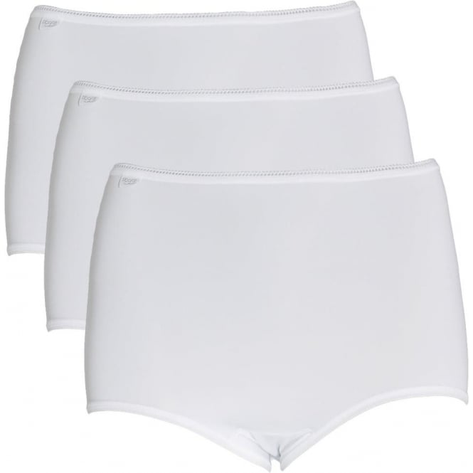 Sloggi 24/7 Microfiber Maxi Brief 3-Pack, White