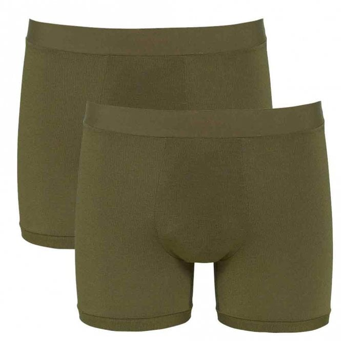 Sloggi GO ALLROUND 2-Pack Short, Havana Green