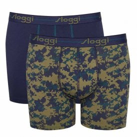 Start 2-Pack Short, Navy / Print