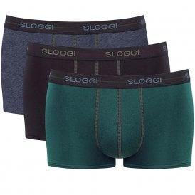 Start 3-Pack Hipster, Green/Navy/Blue