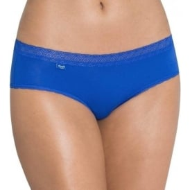 EverNew Lace Hipster Brief, Blue