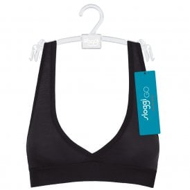 GO ALLROUND Bralette, Black