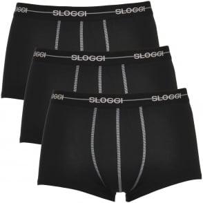 f12a0b38a20f Sloggi 24/7 2-Pack Microfibre Hipster, Black