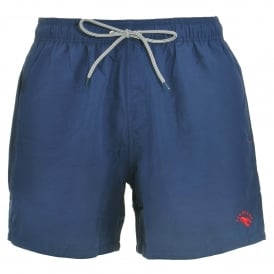 DANBURY Plain Swim Shorts, Navy