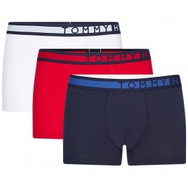 3-Pack Trunk, Navy Blazer / Tango Red / PVH White