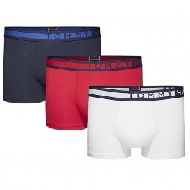 3-Pack Trunk, Navy Blazer / White / Tango Red