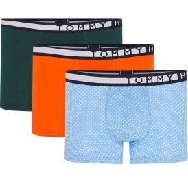 3-Pack Trunk Print, Cypress Green/Orange/Iris Blue