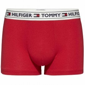 Authentic Cotton Stretch Trunk, Tango Red
