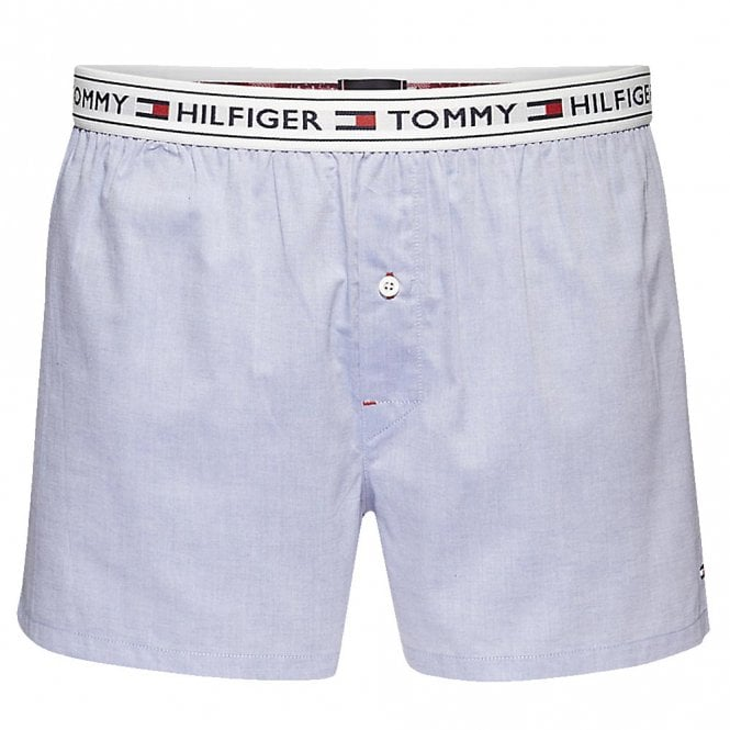 Tommy Hilfiger Authentic Woven Boxer, Coronet Blue