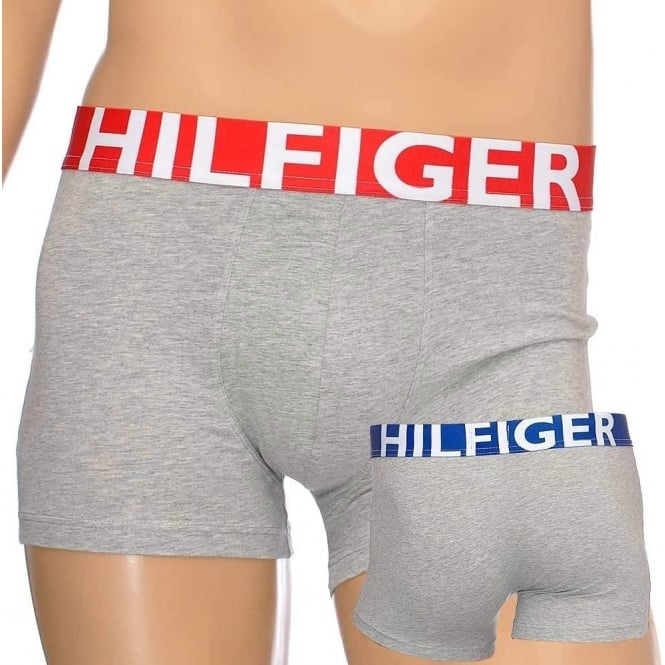 Tommy Hilfiger Bold Cotton Stretch Trunk, Grey