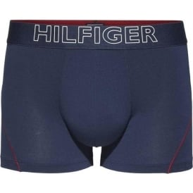 Cotton Athletic Trunk, Navy