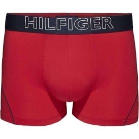 Cotton Athletic Trunk, Tango Red