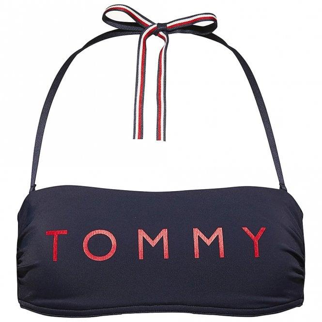Tommy Hilfiger Essential Bandeau Bikini Top, Navy Blazer
