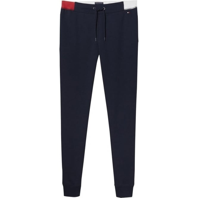 Tommy Hilfiger Women Flag Cotton Jogger, Navy