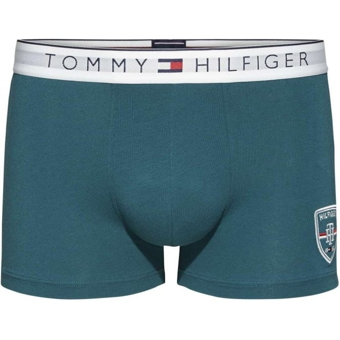 Tommy Hilfiger Heritage Cotton Stretch Trunk, Deep Teal
