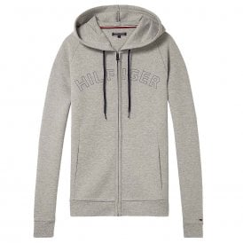 Hoody LS, Heather Grey