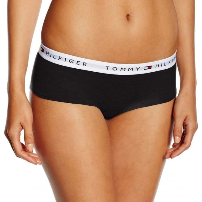 Tommy Hilfiger Iconic Cotton Shorty Brief, Black