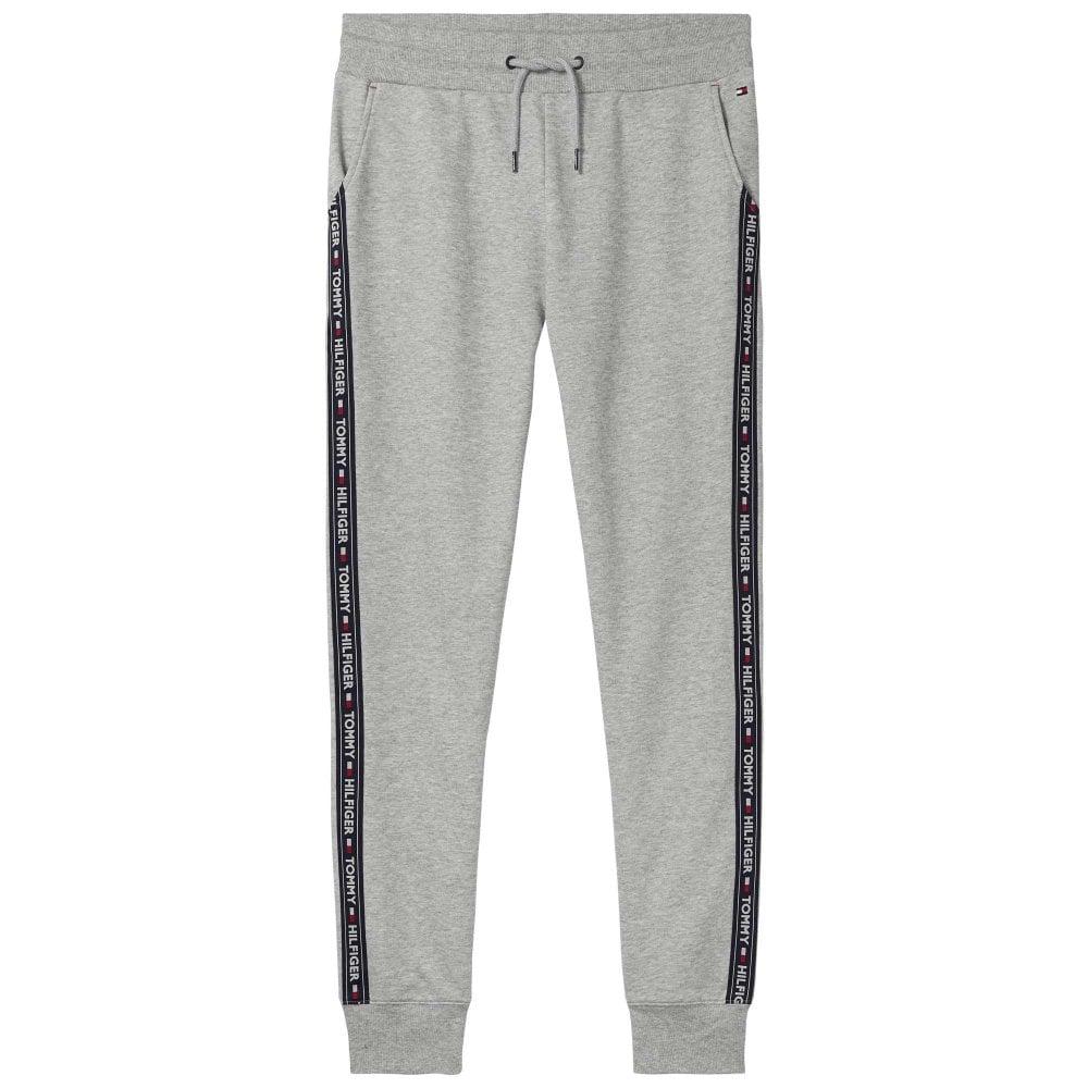 8318b6b3 Home · Men · Lounge Pants; Tommy Hilfiger Logo Tape Jogger HWK, Heather  Grey. Tap image to zoom. Logo Tape Jogger HWK, Heather Grey
