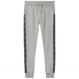 Logo Tape Jogger HWK, Heather Grey