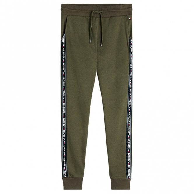 Tommy Hilfiger Logo Tape Jogger HWK, Olive Night Green