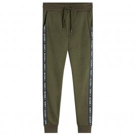 Logo Tape Jogger HWK, Olive Night Green