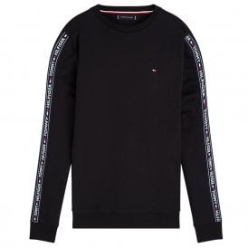 Long Sleeve HWK Sweatshirt, Black