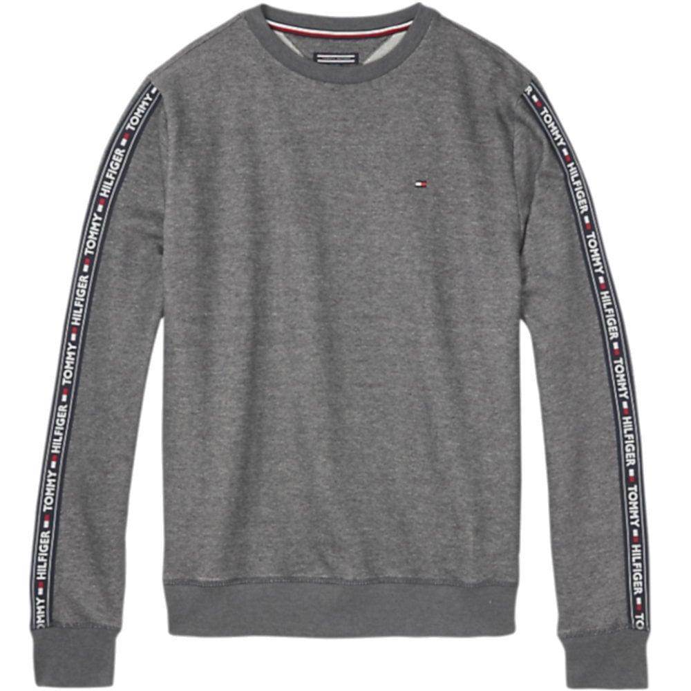 7af9f0f8 Tommy Hilfiger Long Sleeve HWK Sweatshirt, Dark Grey