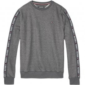 Long Sleeve HWK Sweatshirt, Dark Grey