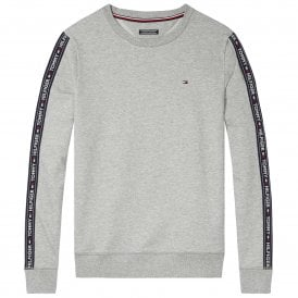 Long Sleeve HWK Sweatshirt, Heather Grey