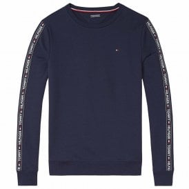 Long Sleeve HWK Sweatshirt, Navy