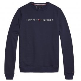Long Sleeve HWK Track Top, Navy
