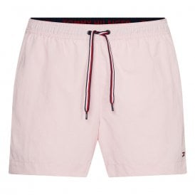Medium Drawstring Swim Shorts, Misty Pink