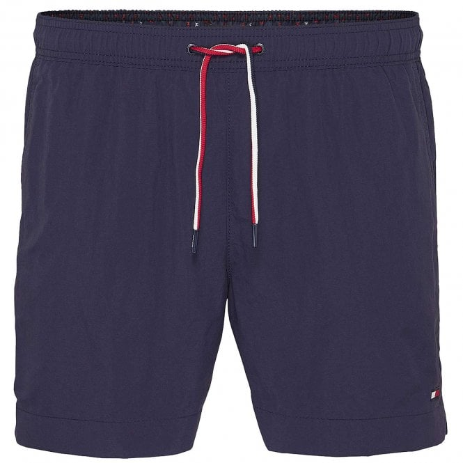 Tommy Hilfiger Medium Drawstring Swim Shorts, Navy Blazer