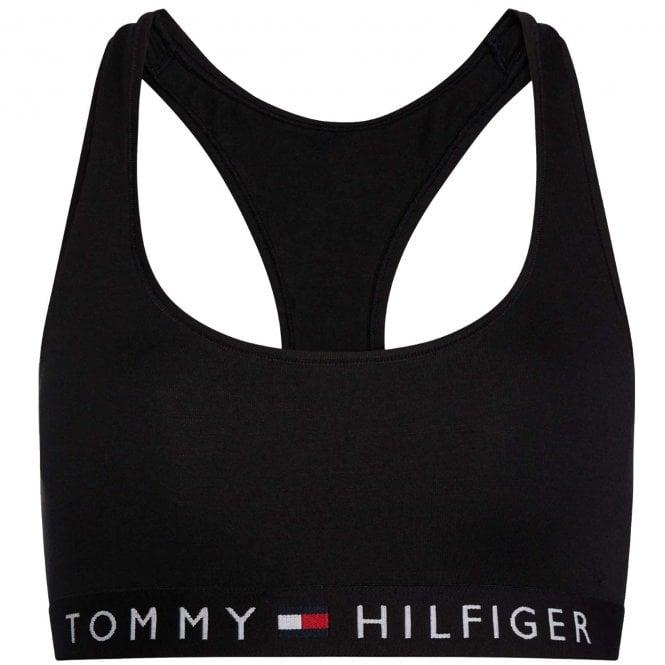 Tommy Hilfiger Original Cotton Bralette, Black
