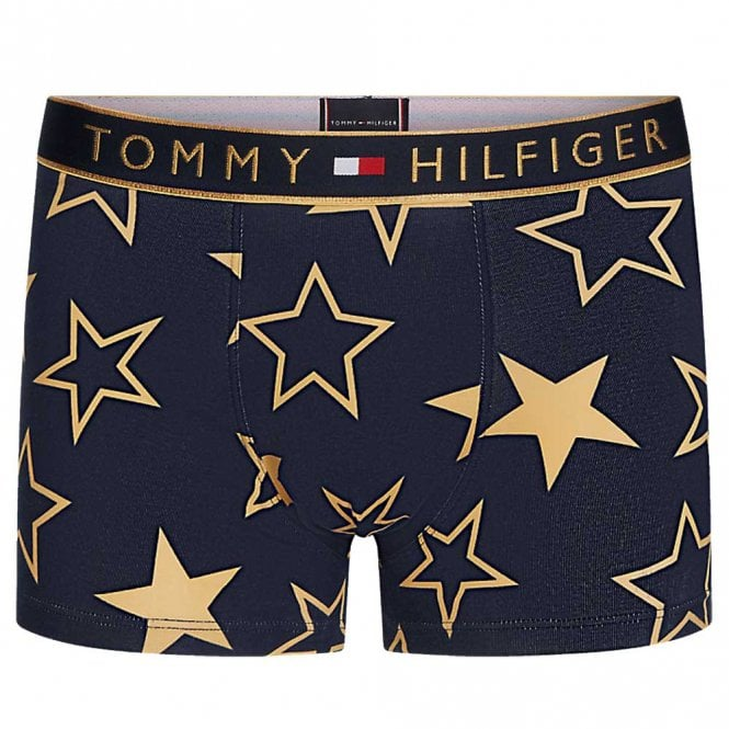 Tommy Hilfiger Original Holiday Trunk Golden Stars, Navy Blazer