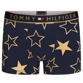 Original Holiday Trunk Golden Stars, Navy Blazer