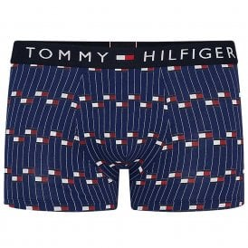 Original Trunk Flag Stripe, Blue Depths
