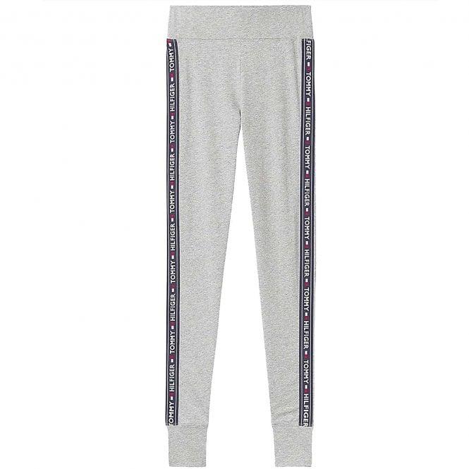 Tommy Hilfiger Side Logo Leggings, Grey