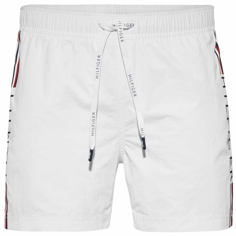 bddafdaea8 Tommy Hilfiger Swimwear - Logo Leg Swim Shorts Bright White