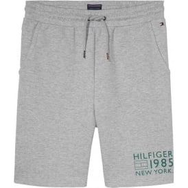 Track Shorts, Heather Grey
