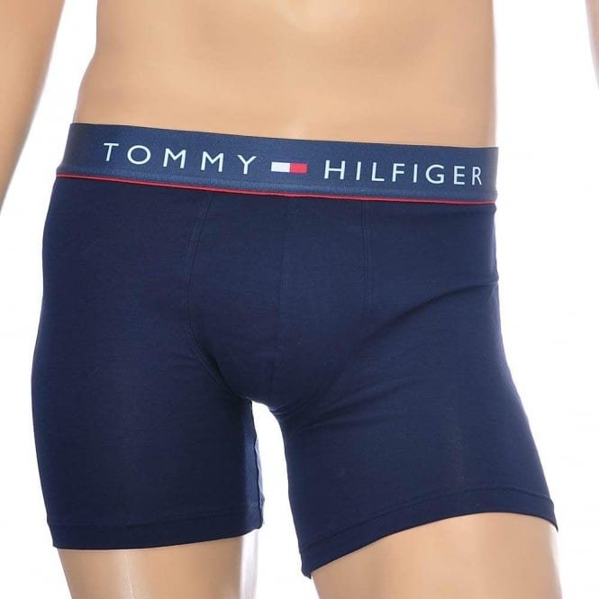 Tommy Hilfiger Cotton Flex Boxer Brief, Navy