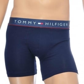 Cotton Flex Boxer Brief, Navy
