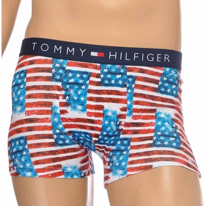 Tommy Hilfiger Icon Photo Americana Stretch Cotton Trunk