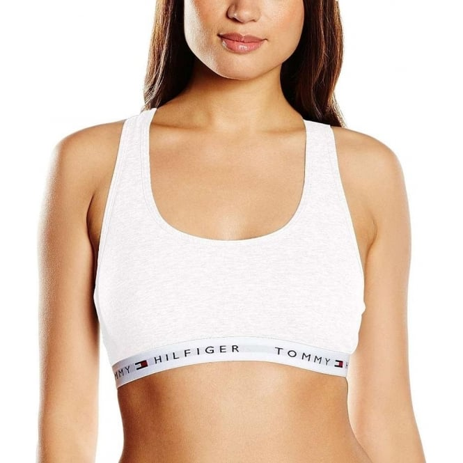 Tommy Hilfiger Women Iconic Cotton Bralette, White