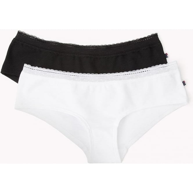 Tommy Hilfiger Womens Casual Cotton Pennie 2-Pack Shorty Brief ... b78a668b71a15